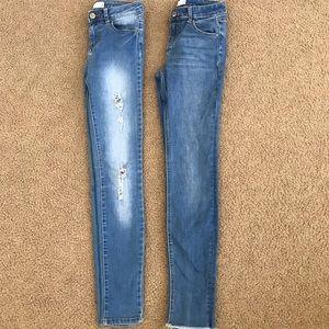 Girls skinny jean bundle